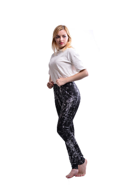 Women Printing Bronzing Seamless Sexy Leggings