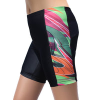Colorful Graffiti Womans Shorts Spandex Yoga Tight Running Summer UPF 50+ Fitness Sports Hiking Courtgame Pocket Design NO. 861