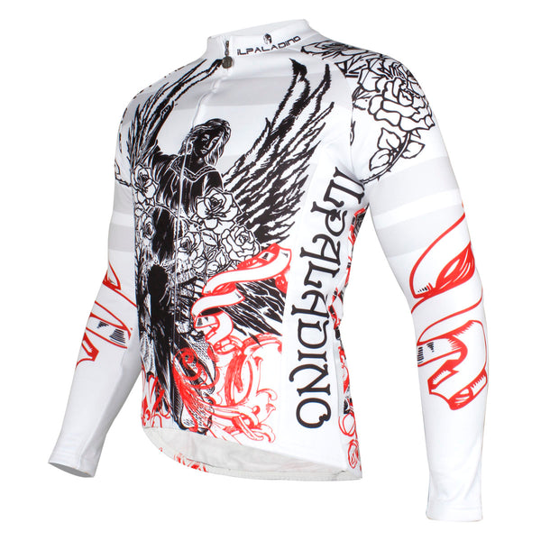 Rose Angel Men's Long Sleeves Cycling Spring Autumn Biking Shirts NO.721
