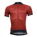 Men's Simple Style Cycling Jersey Short Sleeve Bicycling Shirt Green/red/black/grey NO.772