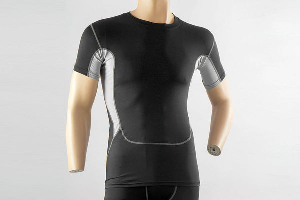 Men's Compression Top Base Layer T Shirts Short Quick Dry Compression Tees Fitness Gym Tops Athletic Tshirt