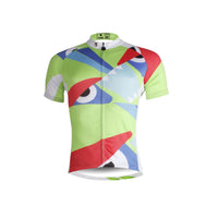 Unhappy Eyes Jersey Men's Short-Sleeve Summer Biking T-shirt NO.661