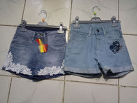 Girs Denim Short