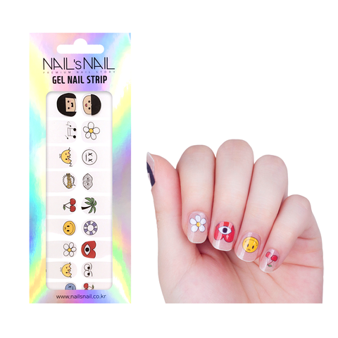 Gel Nail Strips 43
