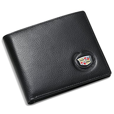 CADILLAC BIFOLD WALLET-GENUINE LEATHER-CHP-004AP