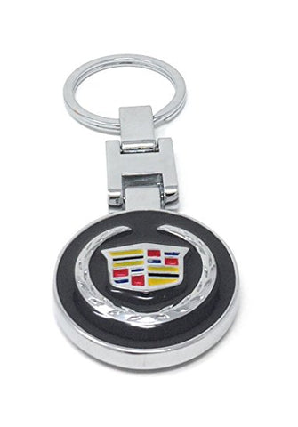 CHP-010AP-CADILLAC KEY CHAIN BOTH SIDED SAME DESIGN