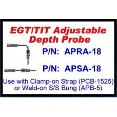 CHP-APRA-18-EGT/TIT ADJUSTABLE DEPTH PROBE-RIGHT ANGLE