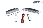 CADILLAC UNIVERSAL LED DAYTIME RUNNING LIGHT 2-2 PIECE-CHP-BDKT0036