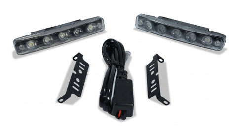 CADILLAC UNIVERSAL LED DAYTIME RUNNING LIGHT-2 PIECE-CHP-BDKT0037