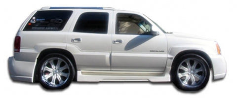 CHP-BDKT0069-CADILLAC ESCALADE DURAFLEX PLATINUM 2 SIDE SKIRTS ROCKER PANELS-2 PIECE