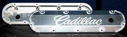 "CHP-BL74-3/8"" BILLET RAIL FABRICATED ALUMINUM VALVE COVERS"