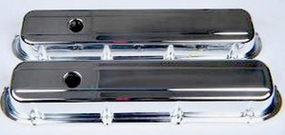 CADILLAC 472 500 HEAVY DUTY CHROME VALVE COVER KIT-CHP-BLK01-70