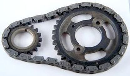 CADILLAC 472 500 TIMING SET, 3 PIECE HEAVY DUTY ALL STEEL-CHP-EP20