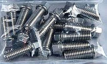 CADILLAC 472 500 SMALL HEX-STAINLESS HEADER BOLT KIT-GRADE 8-CHP-HW94