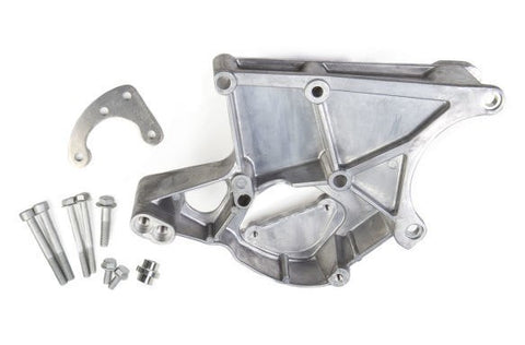 LS HOLLEY LS POWER STEERING & ALTERNATOR BRACKET DRIVER SIDE-CHP-LSX0002