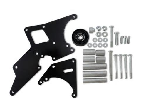 LS TRUCK ALTERNATOR/POWER STEERING PUMP BRACKET-BLACK-CHP-LSX0017