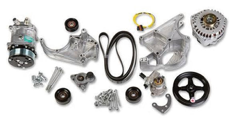 CHP-LSX0027-HOLLEY LS COMPLETE ACCESSORY DRIVE KIT