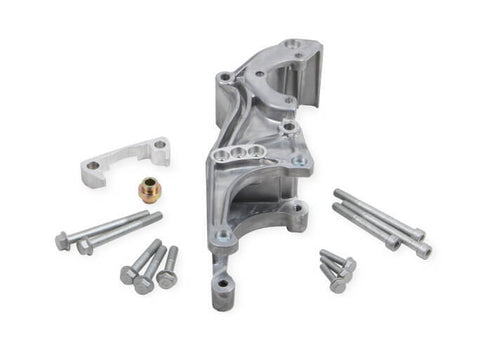 LS HOLLEY LS LOW MOUNT ACCESSORY DRIVE BRACKET-P/S & ALTERNATOR-CHP-LSX0040