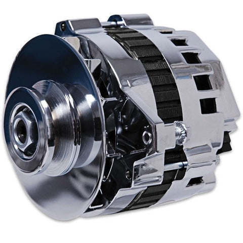 LS MSD DYNAFORCE ALTERNATOR-160 AMP-CHROME-CHP-LSX0160