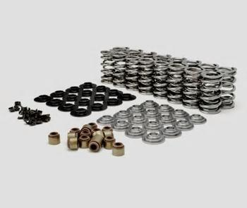 GM LS DUAL VALVE SPRING KIT-TOOL STEEL RETAINERS CHP-LSX0408