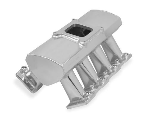 HOLLEY SNIPER HI-RAM LS1 EFI INTAKE MANIFOLD & FUEL RAIL KIT-SINGLE PLANE-4150 FLANGE-SILVER CHP-LSX0710