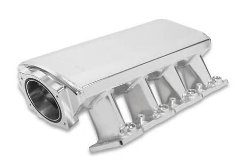 LS SNIPER LS1 LOW PROFILE 92MM EFI INTAKE MANIFOLD & FUEL RAIL KIT-SILVER CHP-LSX0744