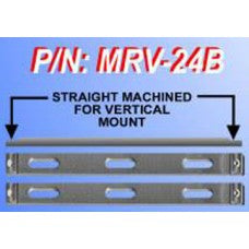 CHP-MRV-24B-STRAIGHT MACHINED RAILS FOR VERTICAL BRACKET MOUNTING (2)