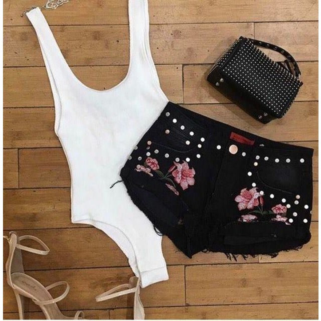 Black Rose Shorts