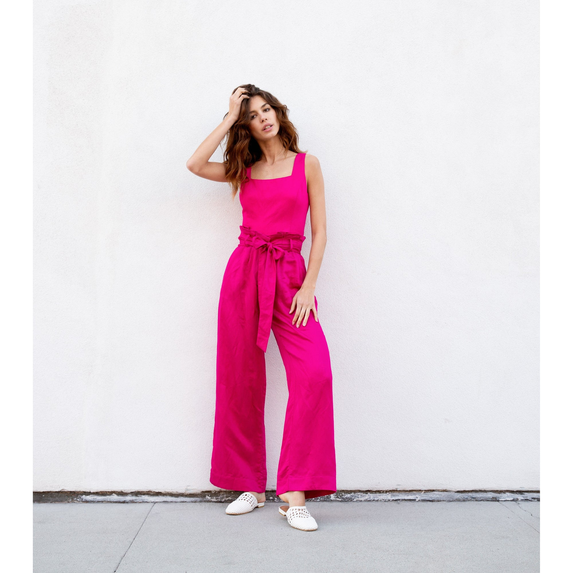 Bubblegum Pink Pants Set