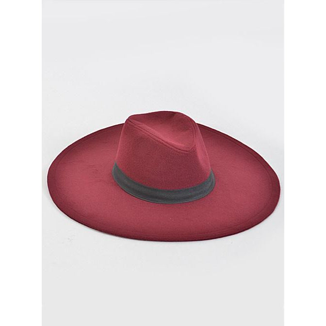 My Brim Hat (Burgundy)
