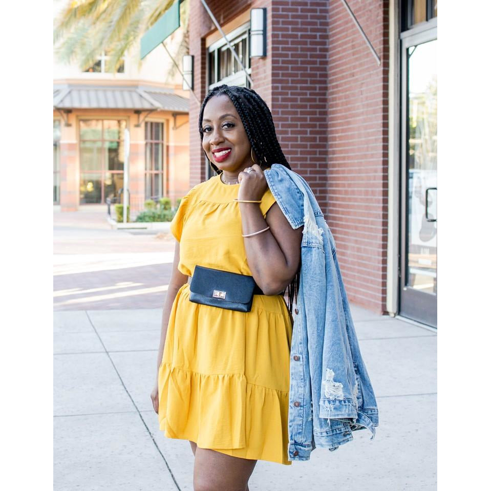 Fall Easy Dress  (Yellow)