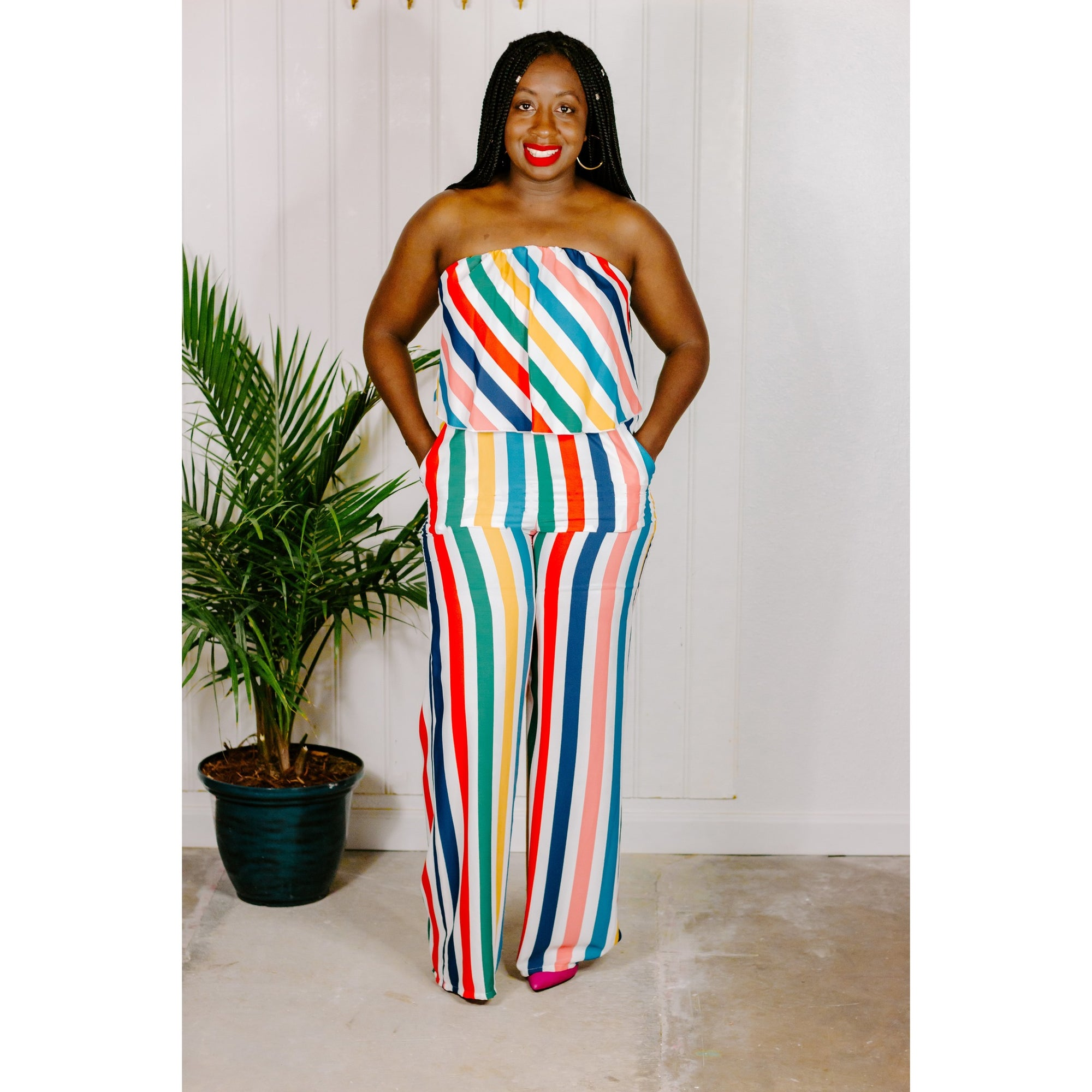 Rainbow jumpsuit