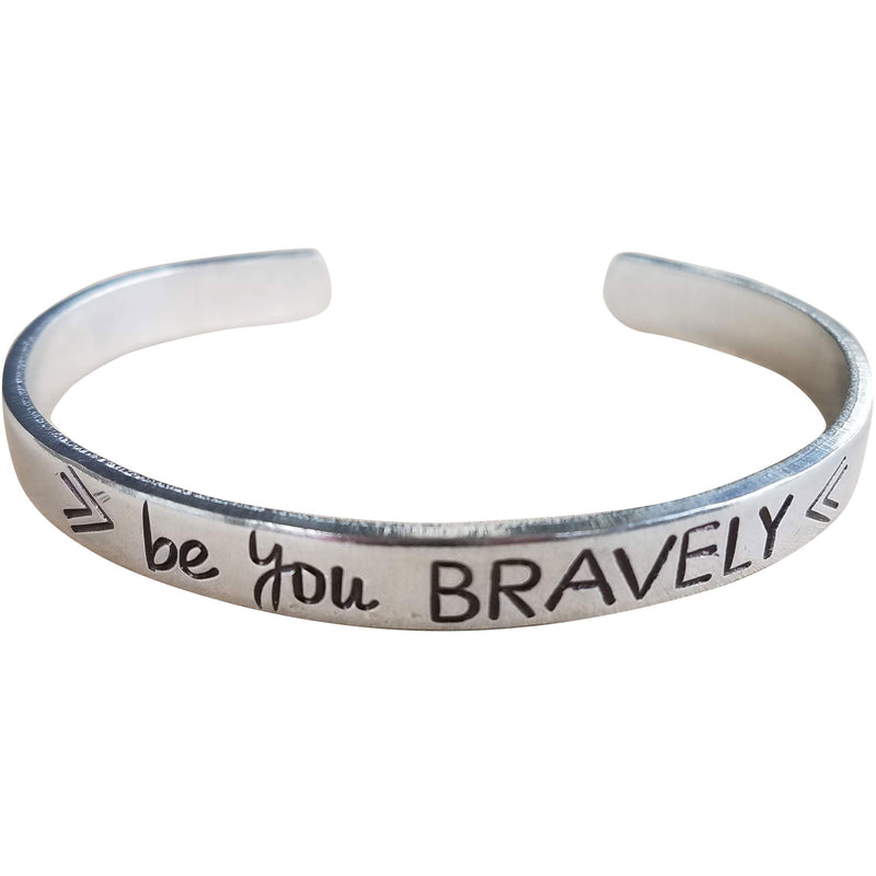Be you Bravely Mantra Cuff