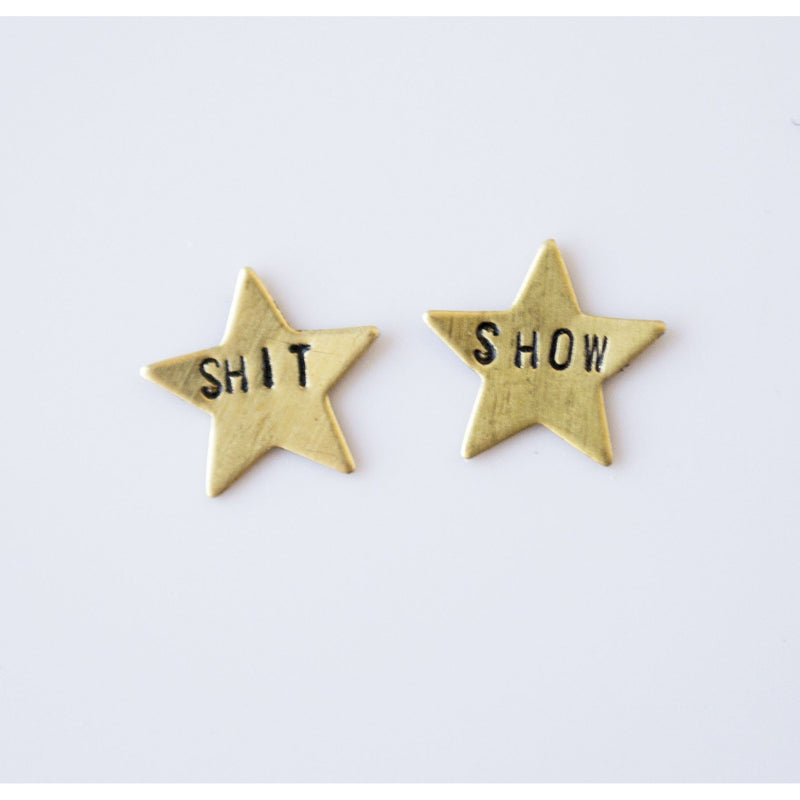 Shit Show, Star Earrings