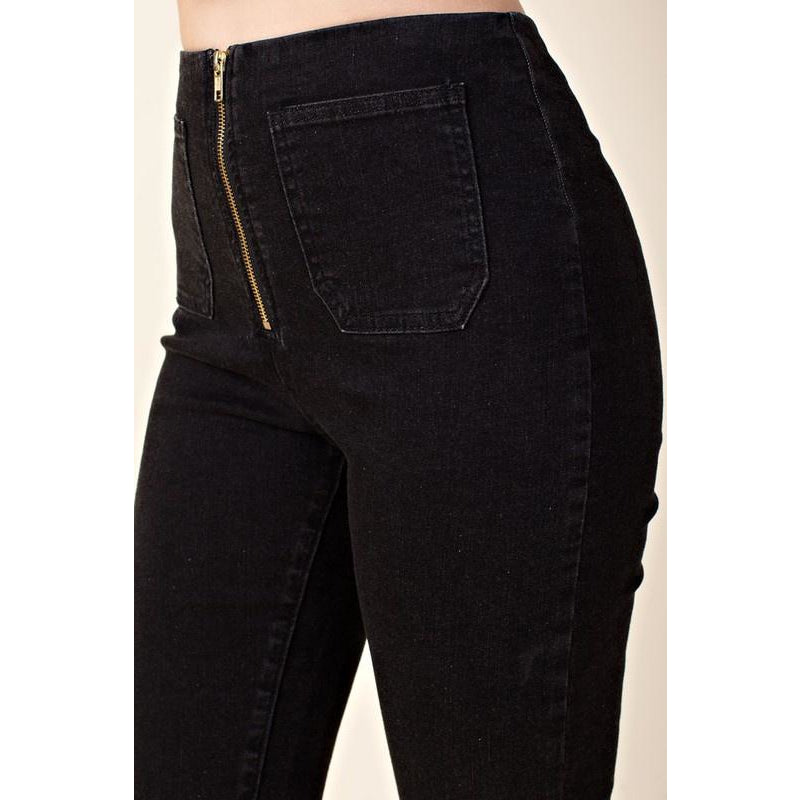 Zina Black Denim