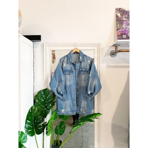 Afro Denim Jacket
