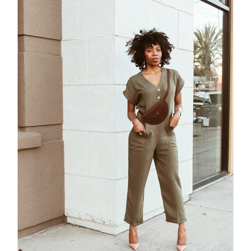 Val Green Jumpsuit