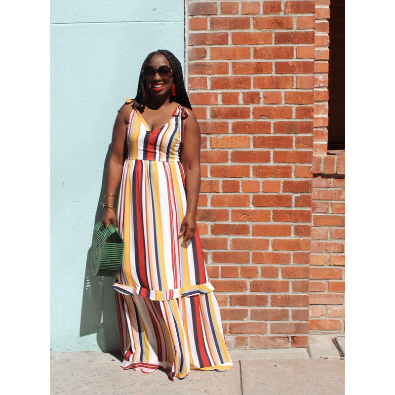 Color My Stripe Dress