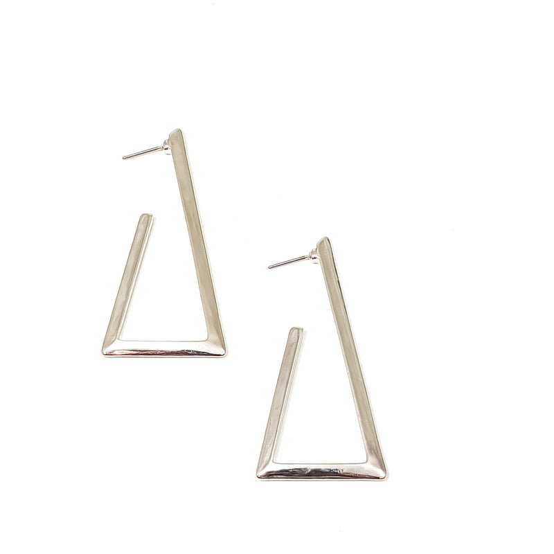 Carly Earrings (sliver)