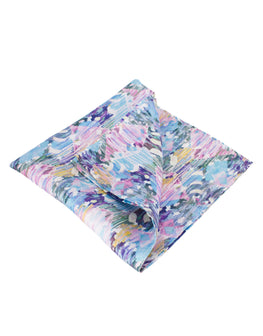 Cherry blossom shade pocket square