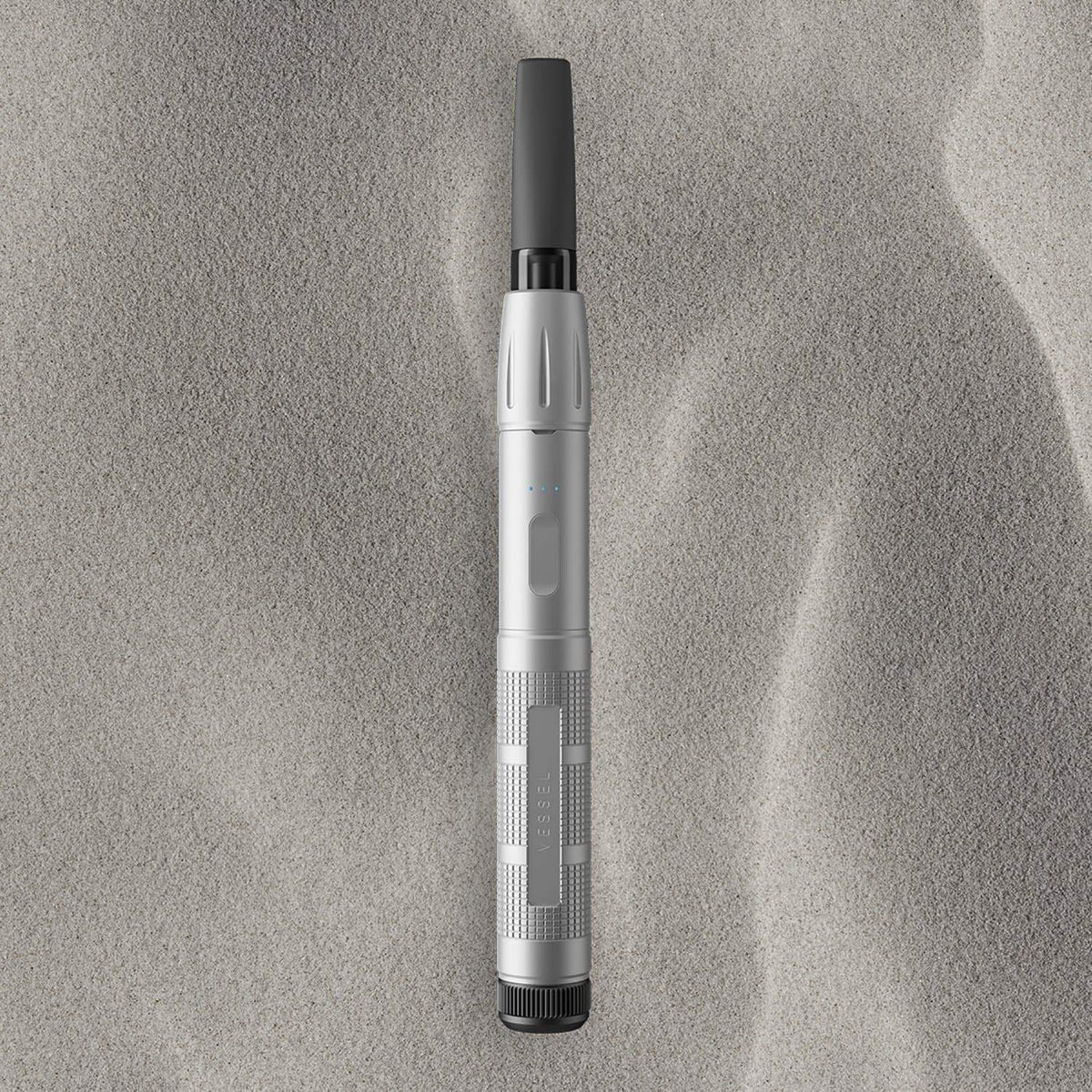 Vessel Expedition Vape Pen Battery in Silver (Alternate Background)