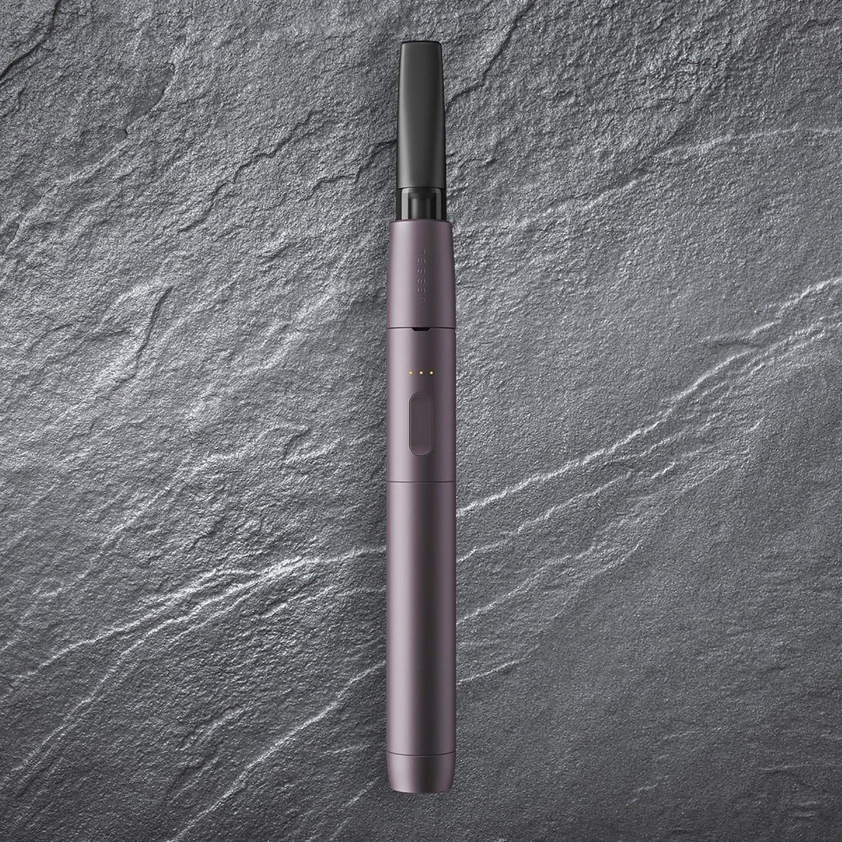 Vessel Style Series Vape Pen Battery in Aubergine (Alternate Background)