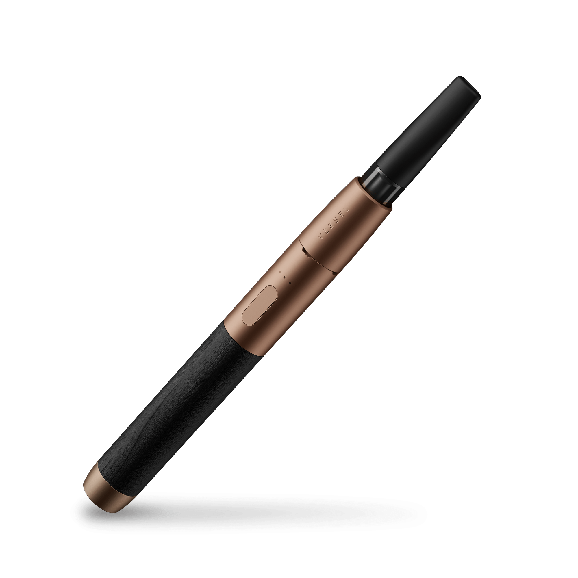 Wood Vape Pen Battery with Bronze and Blackwood
