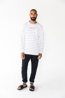 Dropped Stripe Pant