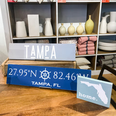 Custom Wooden Signs in Boutique