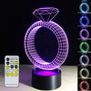3D Diamond Ring LED Lamp - 3D Led Lamps