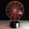 Spider Web 3D Illusion Lamp - 3D Led Lamps
