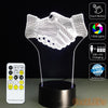 3D Handshake Illusion Lamp - 3D Led Lamps