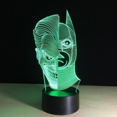 3D Batman Joker LED Lamp - 3D Led Lamps