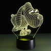 Lovely Puppy 3D LED Lamp - 3D Led Lamps